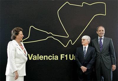 Confirmado: el Gran Premio de Europa será en Valencia en el 2008