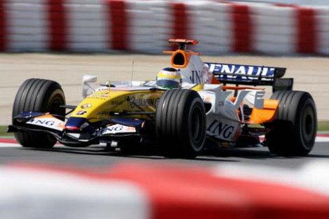 Los pilotos de Renault confiados para la carrera de Montreal