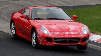 Michael Schumacher, probador de Ferrari
