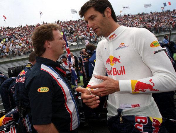 Webber se convierte en el mejor defensor de Silverstone