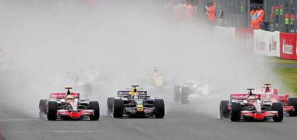 Coulthard se disculpa por el accidente con Vettel