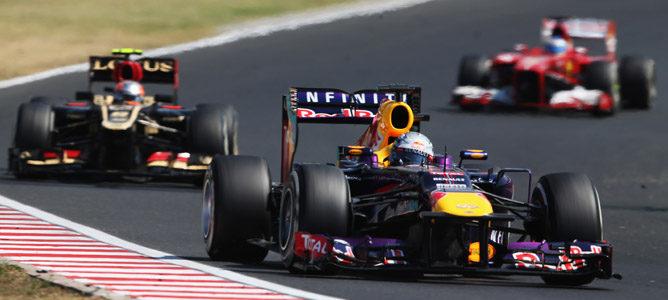 Evaluación media F1 2013: la cabeza de la parrilla