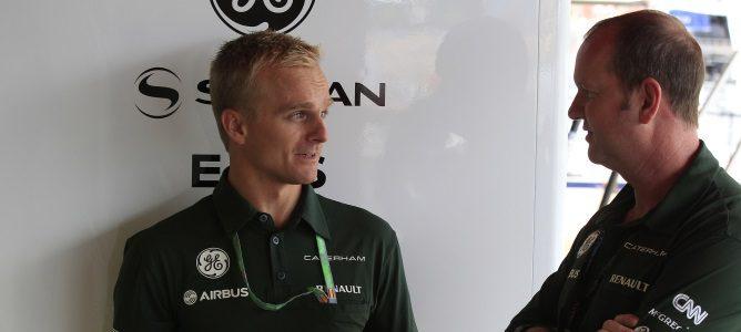 Heikki Kovalainen pilotará el CT03 en los Libres 1 de los GP de Bélgica e Italia