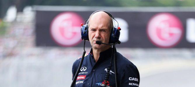 """Adrian Newey: """"Creo que Monza será un circuito difícil para nosotros"""""""