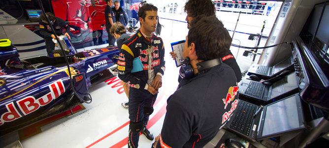 """Daniel Ricciardo: """"Creo que puedo luchar con los mejores pilotos de la parrilla"""""""