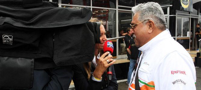 """Mallya confía en el regreso del GP de India en 2015: """"No veo ninguna razón por la que no debería celebrarse"""""""