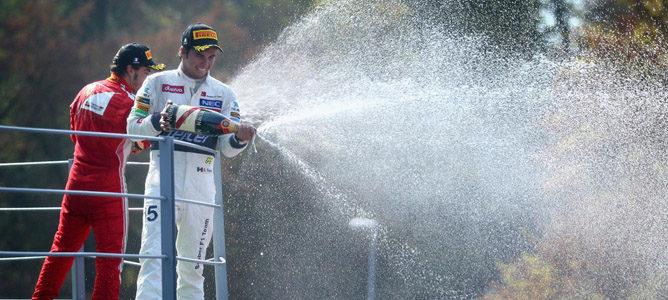 Lewis Hamilton gana el GP de Italia 2012 F1