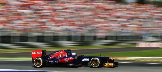 "Daniel Ricciardo: ""La baja carga aerodinámica me ayudó en las rectas"""
