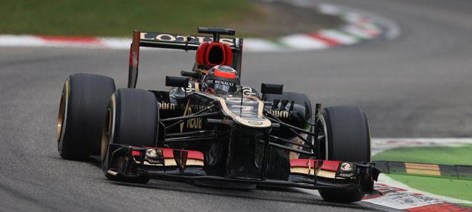 """Kimi Räikkönen, tras el GP de Italia 2013: """"El coche se comportaba bien"""""""