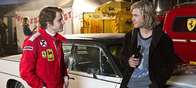 'Rush': Hollywood supera el reto de la Fórmula 1 con sobresaliente