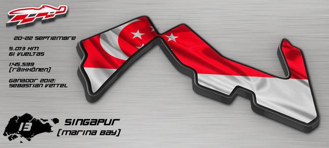 GP Singapur 2013 F1
