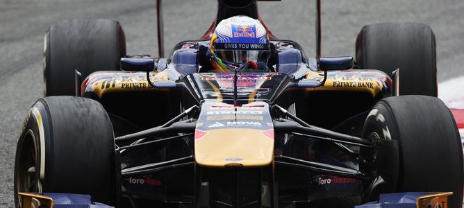 Ricciardo confía en que su STR8 de un paso adelante con las nuevas piezas