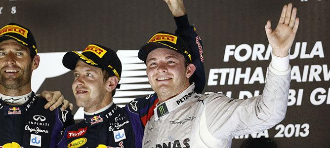 Estadísticas Abu Dabi 2013: Webber cede otra victoria desde la 'pole' al 'recordman' Vettel