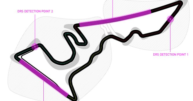 Dos zonas de DRS para el Gran Premio de Estados Unidos