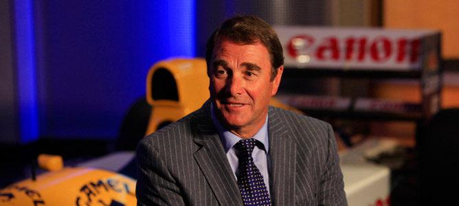 Nigel Mansell será el comisario piloto del GP de Estados Unidos 2013