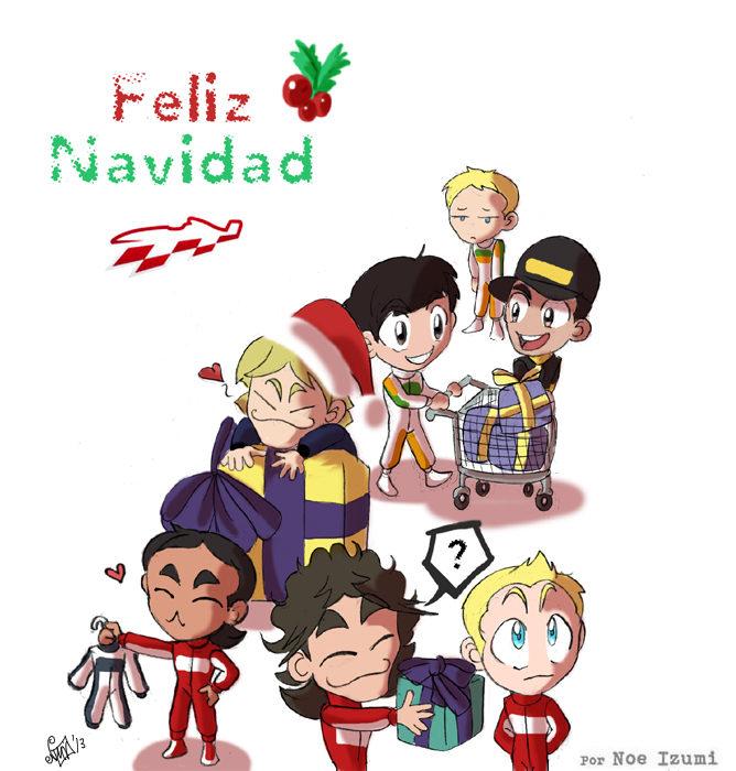 Los Chibis (130): ¡Feliz Navidad!