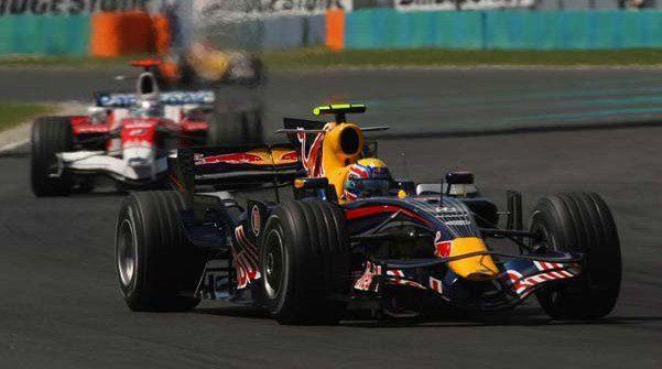Red Bull acaba fuera de los puntos