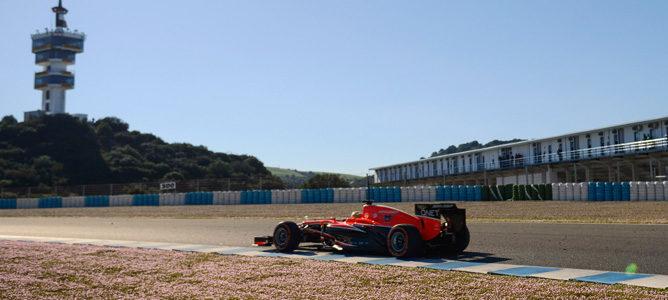 Marussia MR02 en Jerez