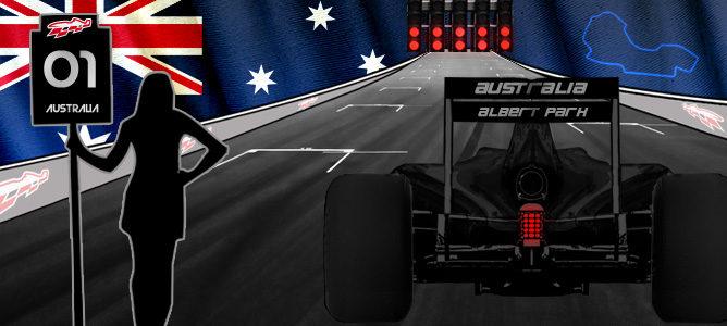 Cartel del GP de Australia 2014 de F1
