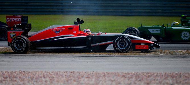 """Jules Bianchi: """"No pude evitar a Maldonado"""""""
