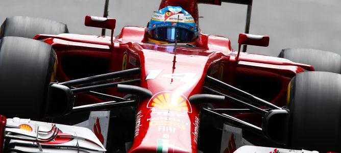 Fernando Alonso evita los muros y se lleva el mejor tiempo de los L1 del GP de Canadá 2014