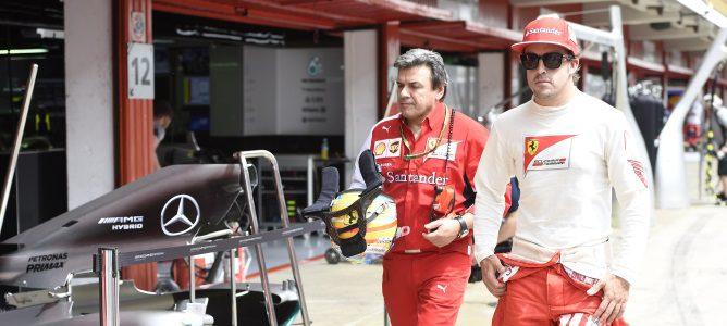 "Marc Gené insiste: ""Fernando Alonso es feliz en Ferrari"""