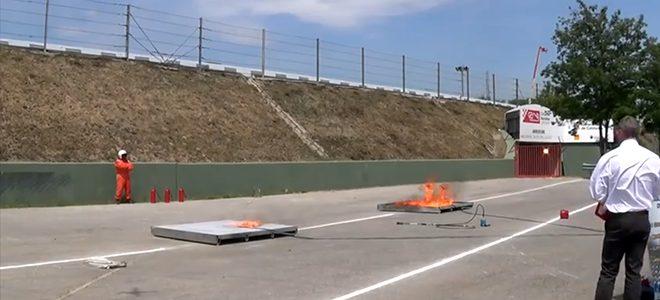 MADMAT: el suelo ignífugo para la Fórmula 1