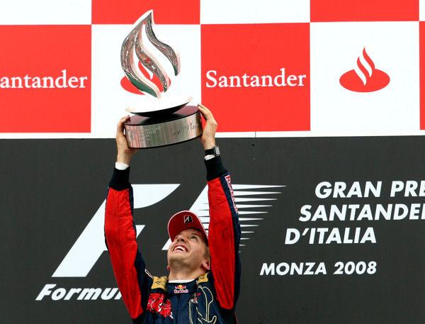 """Vettel: """"Es el mejor día de mi vida"""""""