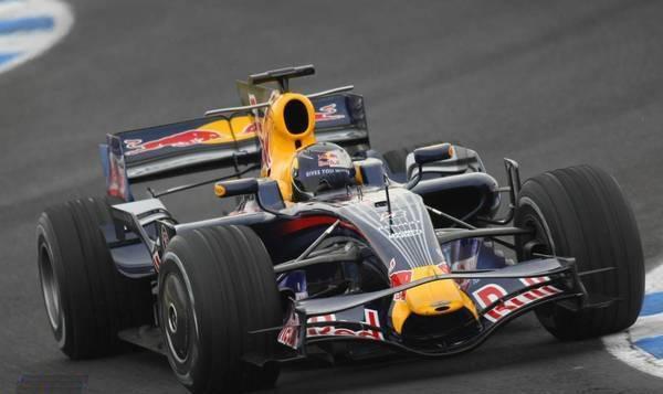 Vettel primero, también con el Red Bull