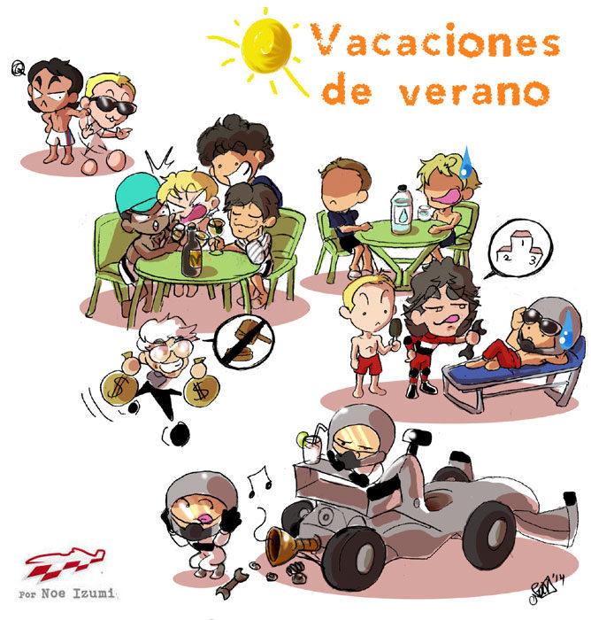 Los Chibis (145): Vacaciones de verano