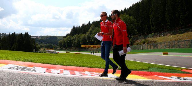 Max Chilton regresa a Marussia en los Libres 2 para disputar el GP de Bélgica