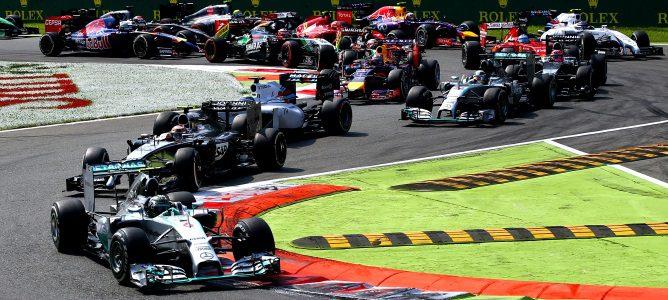 Hamilton vence, Rosberg falla y Alonso abandona por primera vez en el GP de Italia 2014