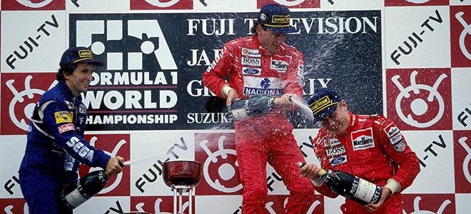 GP de Japón 1993: Cuando Irvine sacó de sus casillas a Ayrton Senna