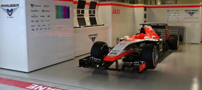 COMUNICADO OFICIAL: Marussia correrá solo con Max Chilton en Rusia