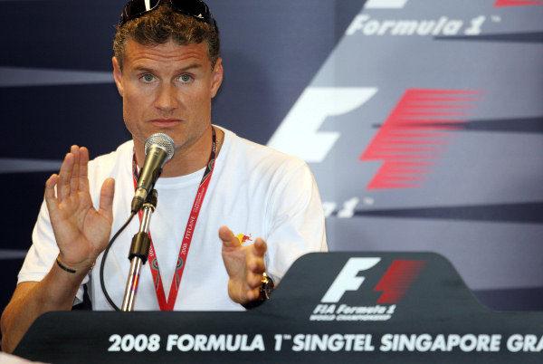 Coulthard ante sus cuatro últimas carreras