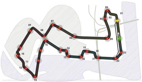 GP Singapur 2008: Clasificación en directo