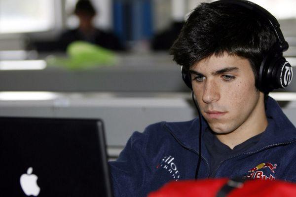 """Alguersuari: """"Espero ser el tercer piloto de Red Bull"""""""