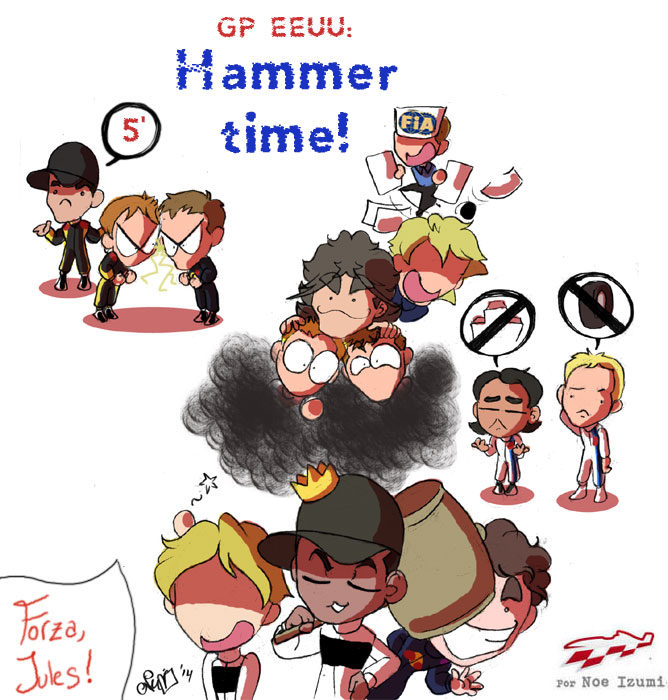Los Chibis 152: Hammer time!