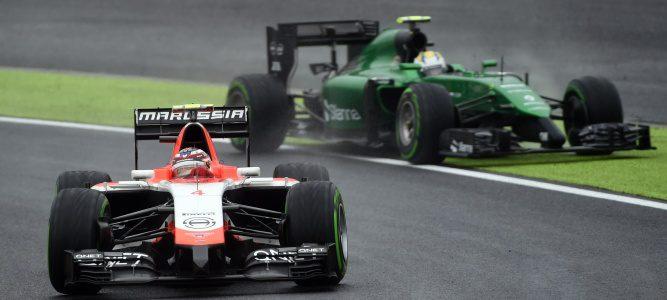Caterham y Marussia aparecen en la lista de inscritos para la temporada 2015
