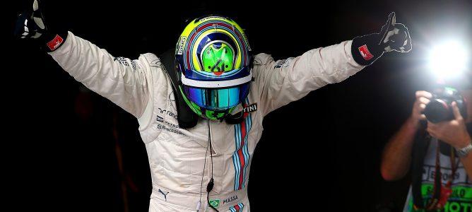 """Felipe Massa: """"La energía de la multitud era increíble y realmente me empujó hacia adelante"""""""