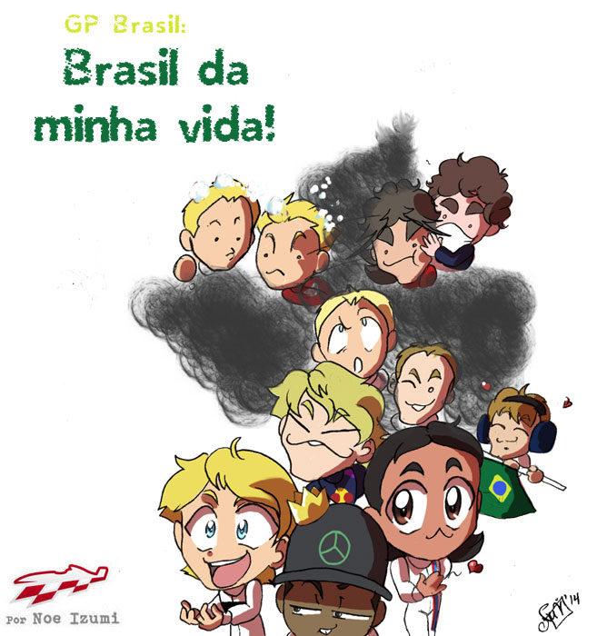 Los Chibis (153): Brasil da minha vida!