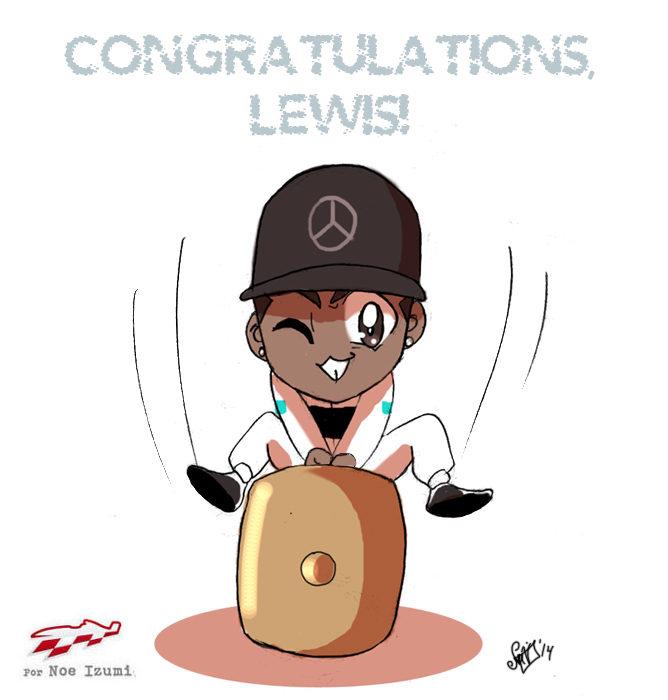 Los Chibis (155): ¡Enhorabuena, Lewis!