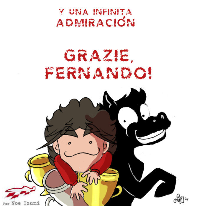 Los Chibis (156): Grazie, Fernando!