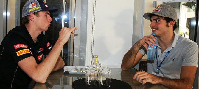Oficial: Toro Rosso confirma a Sainz Jr. como compañero de Verstappen para 2015