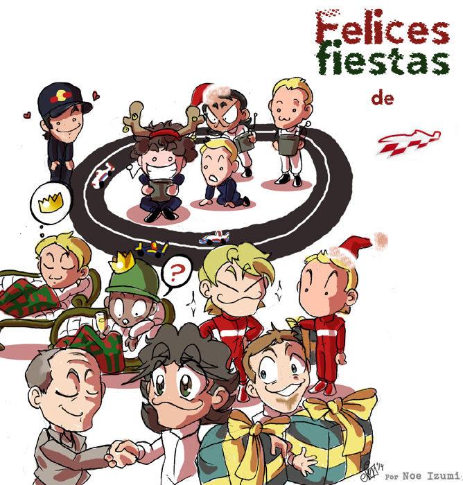 Los Chibis (158): ¡Felices fiestas!