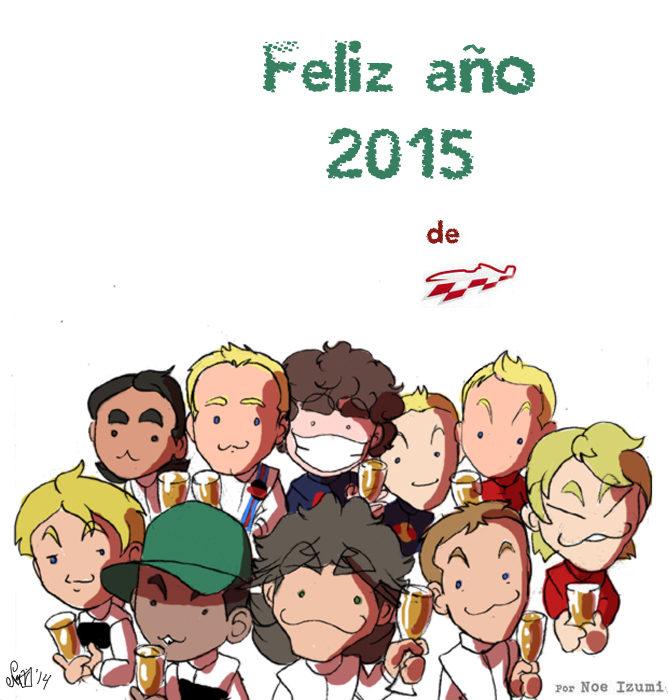 Los Chibis (159): ¡Feliz año nuevo!