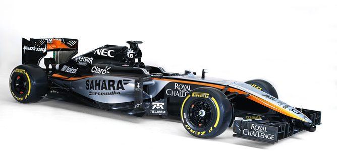 Presentación del Force India 2015: VJM08