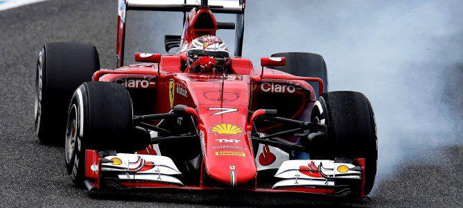 Kimi Räikkönen acaba la cuarta jornada de test en Jerez con el tiempo más rápido de la semana