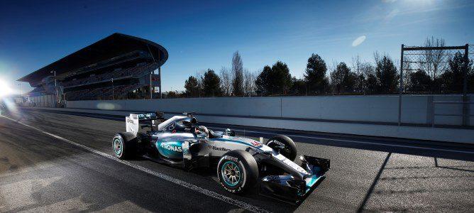 Lewis Hamilton y Mercedes vuelven a marcar el ritmo en el tercer día de test de la segunda ronda en Barcelona