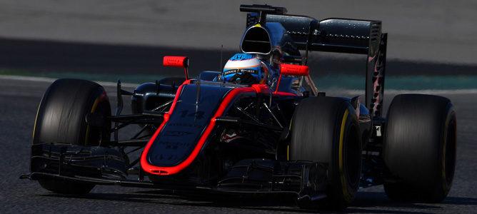 """Fernando Alonso: """"Hay un gran potencial en el MP4-30"""""""